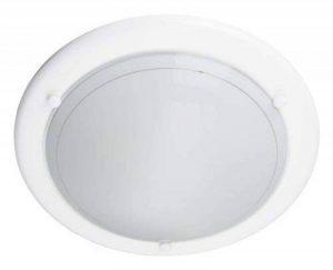 Brilliant - 427042 - Plafonnier Miramar - 60 W - E27 - Blanc de la marque Brilliant AG image 0 produit