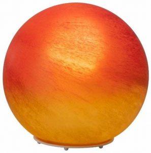 Brilliant 51847/24 Lampe à Poser Moderne Timo 60 W E27 230 V Rouge/Orange / Albâtre de la marque Brilliant AG image 0 produit