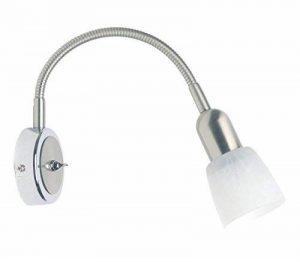 Brilliant 55390/77 Applique Flexible avec Interrupteur E14 Métal/Verre Acier/Chrome 37 cm de la marque Brilliant image 0 produit