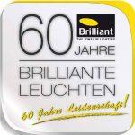 Brilliant 93008/05 Spari 4 Lampadaire à 2 Lumières 60 W E27 230 V Argent/Blanc de la marque Brilliant image 1 produit