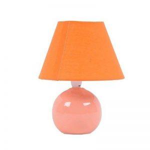 Brilliant AG 61047/38 Lampe à poser Céramique/Textile 40 W E14 Pèche de la marque Brilliant AG image 0 produit