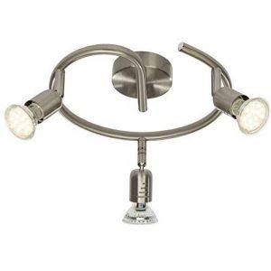 Brilliant AG G28833/13 Loona Plafonnier Spirale LED à 3 Lumières Métal 3 W GU10 Acier de la marque Brilliant AG image 0 produit