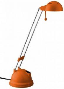 Brilliant G08048/77 Lampe à Poser Métal/Plastique Orange 27,5 x 32 x 27,5 cm de la marque Brilliant image 0 produit
