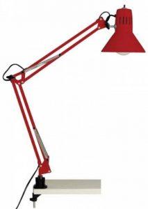 Brilliant HOBBY rouge : lampe de bureau à pince de la marque Brilliant AG image 0 produit