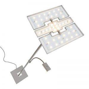 Briloner Leuchten 1328-022 Lampadaire LED dimmable - avec tête 3 en 1 modulable et liseuse flexible - variateur tactile - 21 W + 3.5 W - hauteur : 180 cm de la marque Briloner Leuchten image 0 produit