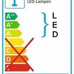 Briloner Leuchten Lampe de table/chevet LED Abat-jour transparent en cristal de la marque Briloner Leuchten image 4 produit