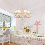 Briskaari Shop- Lustre nordique de cheval mignon lustre de chambre chambre garçon et fille enfants Plafonniers de la marque Briskaari Shop image 3 produit