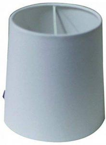 By Rydens - Abat-Jour SOLID en Coton diamètre 14cm - couleur Blanc de la marque By Rydens image 0 produit