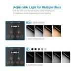 Chargeur sans fil de lampe de bureau de Brilex avec le port USB de charge, 4 modes d'éclairage avec 6 niveaux de luminosité, Mnuterie automatique, Contrôle tactile pour le bureau, Travail, Lecture de la marque Brilex image 3 produit