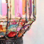 chen Octagon Lustre à plexiglas Retro personnalité Vents industriels Installation douce Lumières d'ingénierie Lustre de style moyen-oriental de la marque Lustres image 3 produit
