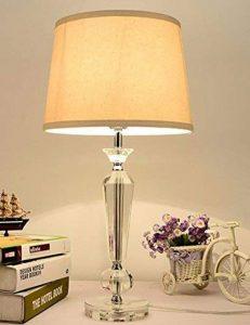 CJSHV-les feux modernes de chambre, lampe de chevet, cristal léger decoration salon étude américaine feu nordique de la marque CJSHV image 0 produit