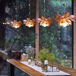 CKH Moderne Nouveau Chinois Fleur De Lotus Pendentif Lampe Tea Tower Ladder Long Chandelier Salle À Manger Salon Personnalisé Lustre Créatif de la marque CKH image 1 produit