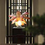 CKH Moderne Nouveau Chinois Fleur De Lotus Pendentif Lampe Tea Tower Ladder Long Chandelier Salle À Manger Salon Personnalisé Lustre Créatif de la marque CKH image 2 produit