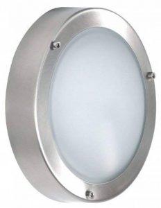 Éclairage extérieur Smartwares Shannon 5000.321 – Applique murale/suspension – Acier inoxydable et verre – Raccord E14 de la marque RANEX image 0 produit