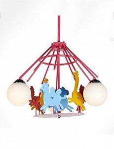 Économisez plus d'énergie lustre --- Les chevaux de troie électriques peuvent être tournés Lustre enfant créatif --- Mode LOFT -1 lustre clair de la marque Lustres image 0 produit