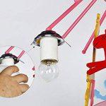 Économisez plus d'énergie lustre --- Les chevaux de troie électriques peuvent être tournés Lustre enfant créatif --- Mode LOFT -1 lustre clair de la marque Lustres image 3 produit
