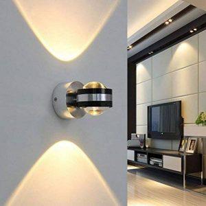 Coocnh Applique murale LED 6W up and down moderne design éclairage decoratif Lampe murale aluminium Blanc Froid 3500K de la marque Coocnh image 0 produit