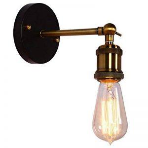 Coquimbo Forme Home Decor Industrial Edison Simplicité Mini Verre Appliques Murales Appliques Lampee Vintage Lodge Fer Rustic Extérieur Lampee Sans Ampoule de la marque Coquimbo image 0 produit
