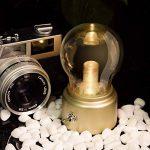 Créative Ampoule Bulb Rétro USB Rechargeable Sans Fil Led Lumière Blanche Chaude 2W/ Mini Lampe de Table / Lampe de Chevet / Lampe Portable Vintage ( douille doré) de la marque AZX image 3 produit