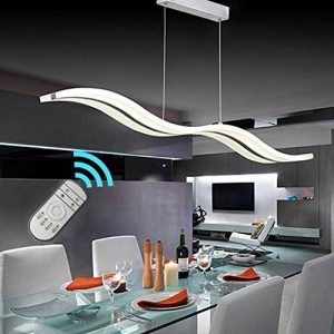 Create For Life® Lustre LED,Design moderne pendentif de lumière LED suspendus luminaire LED plafond lustre de salon contemporain salle à manger chambre (40W) (dimmable) de la marque Create for Life image 0 produit