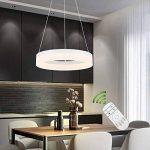 Create For Life® Lustre Salon Moderne LED,Design moderne pendentif de lumière LED suspendus luminaire LED plafond lustre de salon contemporain salle à manger chambre (2700K blanc chaud 25W) de la marque Create for Life image 1 produit
