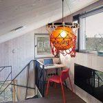 Creative Acrylique Basketball Et Filets Lampe Pendentif Maison Loft Deco Plafond Lampe Avec E27 Ampoule Rétro Vintage Pendentif Lumière Suspendue Plafond Intérieur Luminaire Salon Salle À Manger Bar de la marque TLX-LAMP image 3 produit