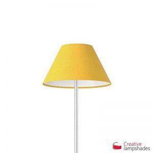 Creative Lampshades Abat-jour Chinois Revêtement Toile Jaune Or - Diamètre 25-11cm - H. 13cm, E27 Pour Lampe de Table, NON de la marque Creative Lampshades image 0 produit
