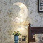 Creative Lune Et Étoiles Fée LED Pendentif Lampe Lustre Plafonnier Enfants Enfants Chambre Décoration (Lumière blanche) de la marque LinTaiHousewares image 2 produit