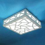 Creative Wood Carving Water Cube LED blanches Plafonniers (AC85 ~ 265V) de la marque Ouku image 3 produit