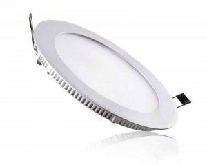CristalRecord–Spot downlight, LED extra-plat, rond, 20W, lumière neutre, 4000° K, couleur blanc de la marque Cristalrecord image 0 produit