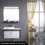 CroLED Lampe Salle de Bain LED 8W 600LM Blanc IP44 Aluminium Eclairage Pour Miroir Maquillage Ameublement Meuble Applique Mural de la marque CroLED image 1 produit