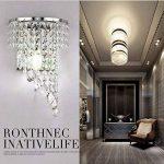 Crystal Wall Lights Aisle Bedside Light Fixtures de la marque Jorunhe image 3 produit