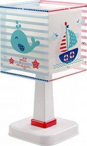 Dalber 43421Lampe de table Petit Marin en plastique bleu 13,5x 13,5x 29cm de la marque Dalber image 0 produit