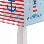 Dalber 43421Lampe de table Petit Marin en plastique bleu 13,5x 13,5x 29cm de la marque Dalber image 1 produit