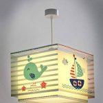 Dalber 43422 Lampe suspendue Petit Marin en plastique – Bleu – 30,5x30,5x25cm de la marque Dalber image 2 produit