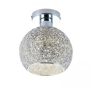 DAXGD Lampe en aluminium de plafond Mini plafonnier pour le vestiaire, le couloir et le salon (Diamètre du plafonnier: 15cm) de la marque DAXGD image 0 produit