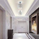 DAXGD Lampe en aluminium de plafond Mini plafonnier pour le vestiaire, le couloir et le salon (Diamètre du plafonnier: 15cm) de la marque DAXGD image 4 produit