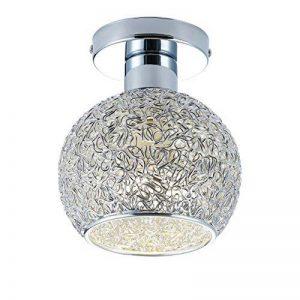DAXGD Lampe en aluminium de plafond Mini plafonnier pour le vestiaire, le couloir et le salon (Diamètre du plafonnier: 18cm) de la marque DAXGD image 0 produit