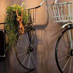 décoration murale Retro style industriel restaurant Tenture murale bicyclette ornement bar décoration murale de fer suspendus ornements taille: 41 * 38 * 80 cm (Couleur : C) de la marque QBZS image 2 produit