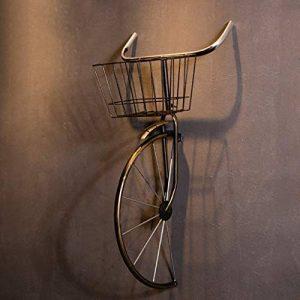 décoration murale Retro style industriel restaurant Tenture murale bicyclette ornement bar décoration murale de fer suspendus ornements taille: 41 * 38 * 80 cm (Couleur : C) de la marque QBZS image 0 produit