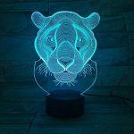 DDBBhome Lampe pour Enfants 3D Lion Night Light Couleurs 3D Luminaria Creative LED Lustre Acrylique Enfants Enfants Cadeaux Indoor Deco Lampe De Chevet de la marque DDBBhome image 1 produit