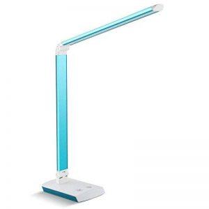 DECKEY 10W Lampe Bureau Lampe de Lecture Lampe de Bureau Led Lampe de Table Lampe Orientable 60 LED Bleu de la marque Deckey image 0 produit