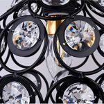 delle fabriqué Rétro cristal Lustre moderne plafonnier Pour Escalier, bar, cuisine, salle à manger, chambre d'enfant de la marque Dellemade image 4 produit