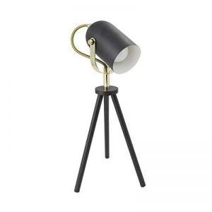 DESIGN-LED Lampe sur pied Tripode Orientable Cano Noir de la marque DESIGN-LED image 0 produit