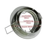 diamètre standard spot encastrable TOP 10 image 2 produit