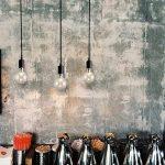 Douille Rétro abat-jour Suspensions Vintage ajustable Rétro Lustre plafond Lampe(E27) Dining Hall Chambre Hôtel 3 Bras (Ampoule NON INCLUS) de la marque ChicDécoré image 2 produit