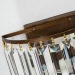 DPG Lighting Applique Murale en Cristal Décoration Lampe Murale pour Chambre, Salon. de la marque DPG Lighting image 3 produit