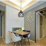 DPG Lighting Led Cristal Cristal Chandelier Plafond Pendules Montage E27 220v 110v pour salon, chambre (ampoule non incluse) de la marque DPG Lighting image 2 produit