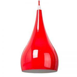 E27 Métal Plafonnier Suspensions Luminaire Moderne Plafonnier Luminaire Lampe Rouge Pendentif Lustre Luminaire Contemporain Suspensions Lampe Pendante Lumiere de la marque Chrasy image 0 produit