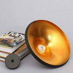 E27 Métal Retro Suspensions Luminaires Lamps Antique Plafonnier Luminaire Lumiere Industriel Antique Suspension Lumiere Lampe LED Aluminium Vintage éclairage de Plafond Industriel Antique Plafonnier Lumiere LED(Noire) de la marque Chrasy image 2 produit